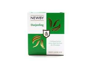 Чай Newby Darjeeling чорний 100гр х12