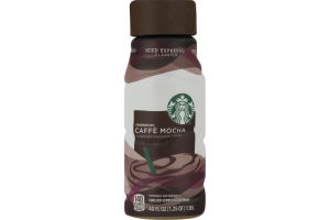Starbucks Chilled Espresso Beverage Caffe Mocha