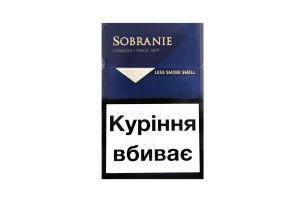 Sobranie blue сигареты купить lnbi сигарета электронная одноразовая что это