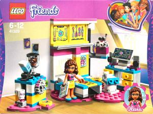 LEGO® Friends Комната Оливии 41329