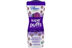 Plum Organics Super Puffs Blueberry With Purple Sweet Potato