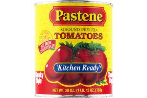 Pastene Kitchen Ready Chunky Style Ground Peeled Tomatoes