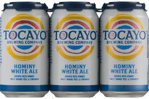 Tocayo Brewing Company Hominy White Ale - 6 PK