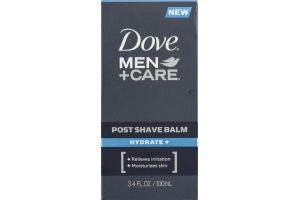 Dove Men+Care Hydrate+ Post Shave Balm 3.4 oz