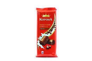 Шоколад молочный пористый Корона 90г