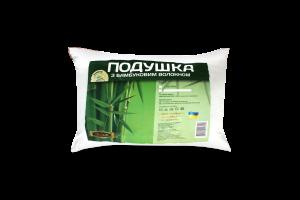 Подушка Zastelli 50*70 Бамбук чохол мікрожакард наповнювач 50% бамбук 50% холофайбер