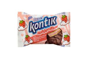Печенье маршмеллоу со вкусом клубники Super Kontik Кonti м/у 30г