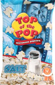 Попкорн для микроволновой печи Salt Top of the Pop м/у 100г