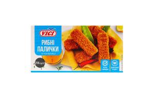 Палички рибні в паніровці заморожені Vici к/у 250г