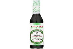 Kikkoman Tamari Soy Sauce Less Sodium Gluten Free