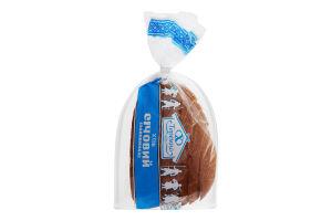 Хліб січовий подовий половинка в нарізці Теремно м/у 0.35кг