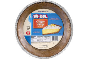 MI-DEL Ginger Snap Pie Crust