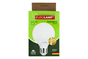 Лампа светодиодная 15W E27 3000K Ecological Eurolamp 1шт