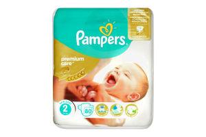 Підгузники Pampers Premium Care Mini р.2 (3-6 кг) №72 (Економ)