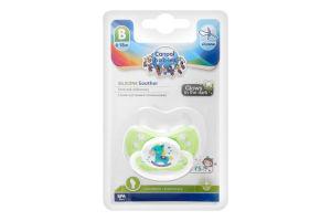 Пустышка для детей 6-18мес силиконовая анатомическая №23/257_gre Canpol babies 1шт