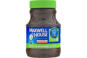 Maxwell House Instant Coffee The Original Roast Decaf