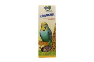 Колосок для попугая мультивитамин Природа 140г