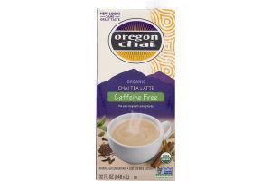 Oregon Chai Organic Chai Tea Latte Caffeine Free