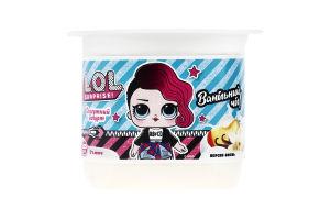 Йогурт 2% десертный Персик-ваниль L.O.L. Surprise! ст 125г