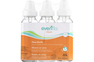Evenflo Classic Glass Bottles (0-3m) - 3 CT