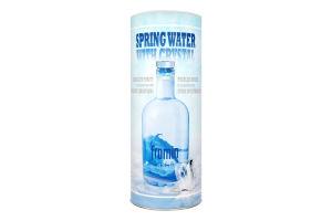 Вода питна льодовикова джерельна Crystal Water Fromin с/пл 0.7л