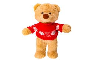 Іграшка м'яка для дітей від 3років Ведмедик у светрі Stip 1шт