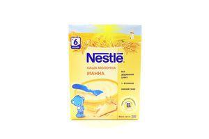 Каша детская молочная от 6 мес Манная Nestle к/у 200г