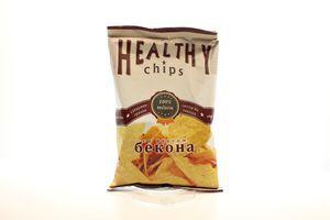 Чипсы из лаваша со вкусом бекона Healthy chips м/у 100г