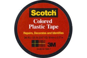 Scotch Black Colored Plastic Tape
