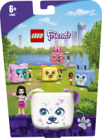 Конструктор для дітей від 6років №41663 Куб-далматинець з Еммою Friends Lego 1шт