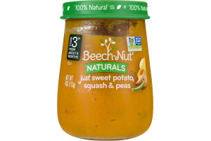 Beech-Nut Naturals Just Sweet Potato, Squash & Peas Stage 3