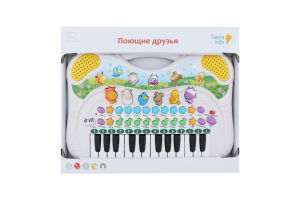 Синтезатор для детей от 3лет №PK39FY Поющие друзья Genio Kids 1шт