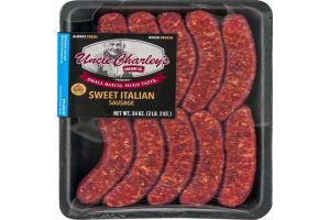 Uncle Charley's Sausage Co. Premium Sweet Italian Sausage