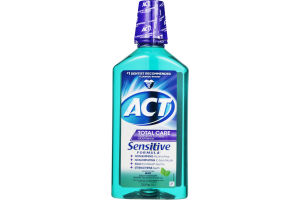 ACT Total Care Mouthwash Sensitive Formula Mint