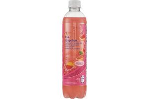 Ahold Flavored Sparkling Water Beverage Pink Grapefruit