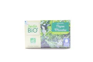 Чай трав.з чебрецю та мяти JardinBIO 30г