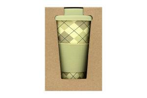 Чашка Eat&Drink бамбуковая 400мл D-03
