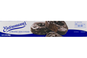 Entenmann's Frosted Devil's Food Donuts - 8 CT
