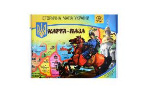 Пазл для детей от 6лет Историческая карта Украины Южпромгруп 1шт