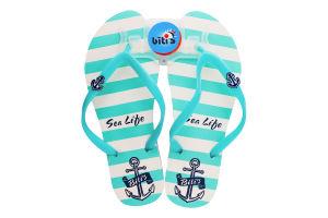 Тапочки-вьетнамки пляжные женские Biti'S №8910-А 36-41