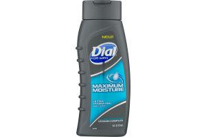 Dial For Men Maximum Moisture Ultra Hydrating Body Wash