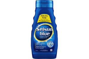 Selsun Blue Dandruff Shampoo Itchy Dry Scalp Clean Fresh Scent