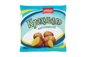 Крохмаль картопляний Деко м/у 200г