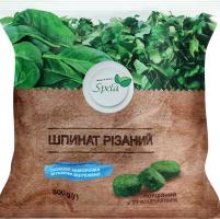 Шпинат заморожений різаний Spela м/у 300г
