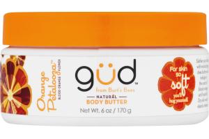 Gud Natural Body Butter Orange Petalooza