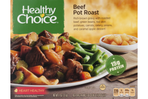 Healthy Choice Beef Pot Roast