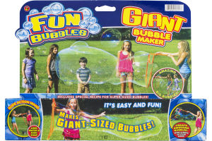 Fun Bubbles Giant Bubble Maker Kit