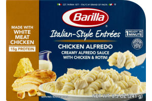 Barilla Italian Style Entrees Chicken Alfredo