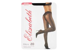 Колготи Elizabeth bikini черн 20