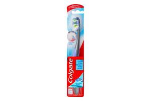 Зубная щетка средней жесткости Межзубная чистка 360 Colgate 1шт